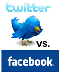 Facebook vs Twitter: Which to Use for What in Emergency Management