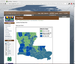 the easiest way to find louisiana flood maps louisiana